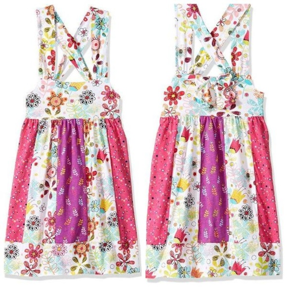 Jelly The Pug Other - Jelly The Pug Floral Knot Knit Sundress 2T 3T New